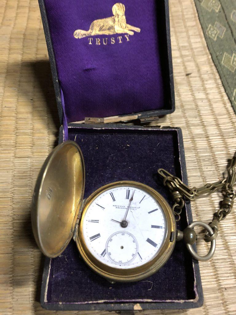 【長崎県長崎市】懐中時計のお買取りをいたしました。